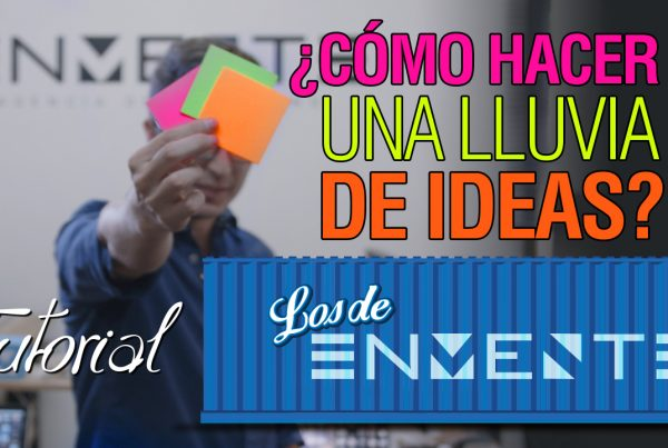 tutorial lluvia de ideas Enmente